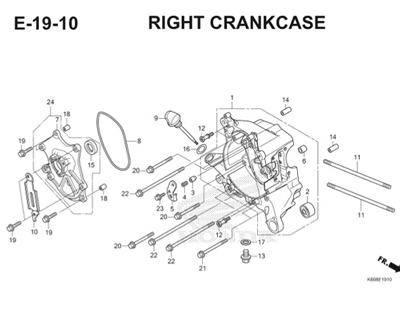 E19 10 Right Crankcase Thumb