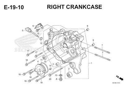 E19 10 Right Crankcase Thumb