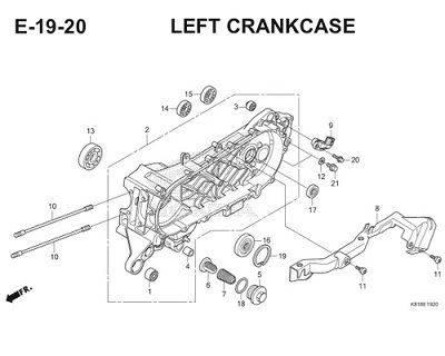 E19 20 Left Crankcase Thumb