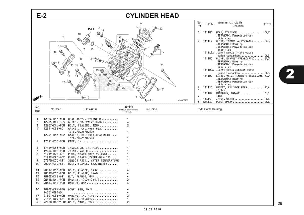 E2 Cylinder Head 1