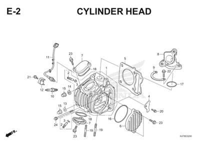 E2 Cylinder Head Katalog Blade K47 Thumb
