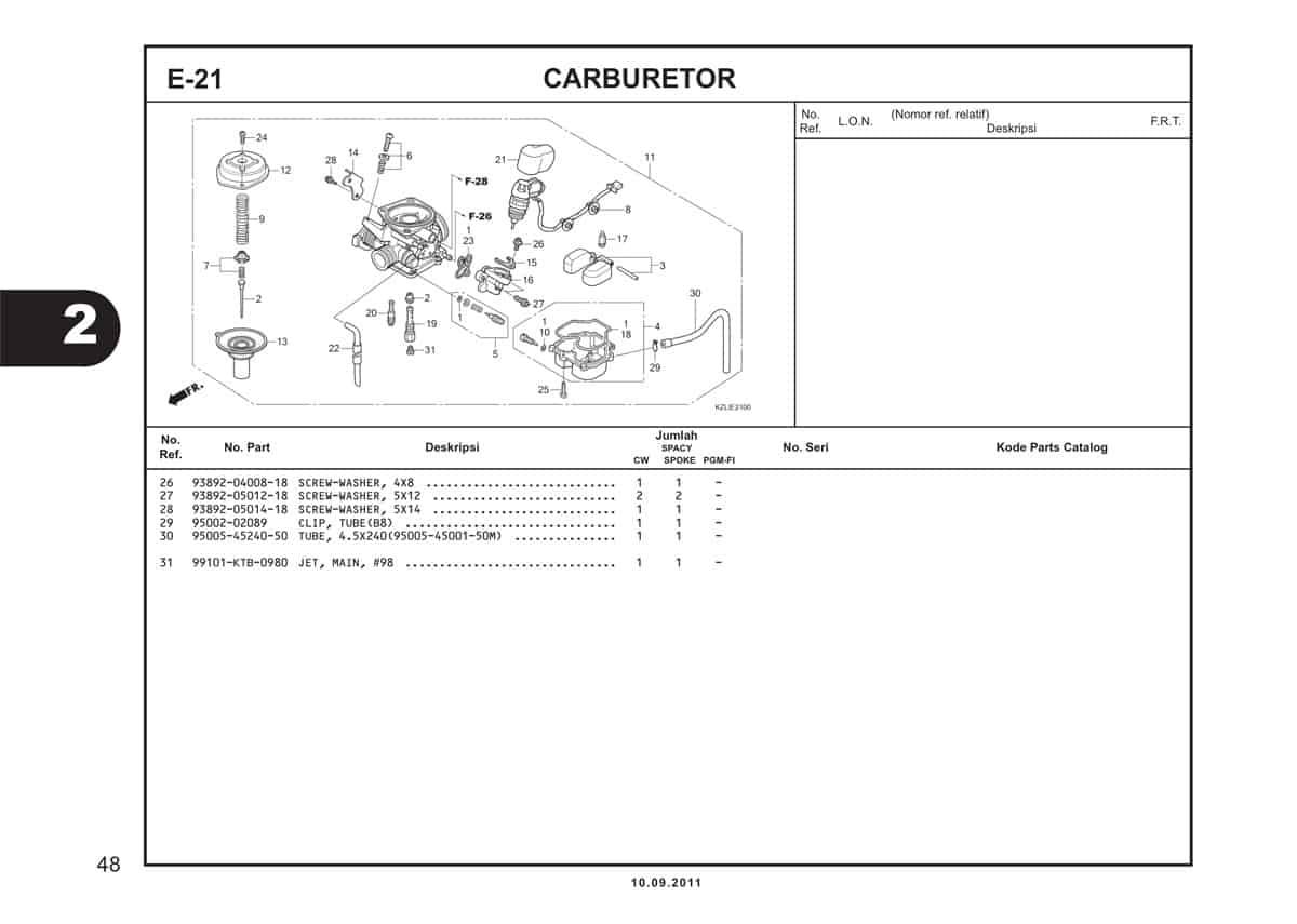 E21 Carburetor 2