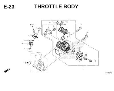 E23 Throttle Body Thumb