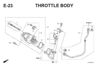 E23 Throttle Body Thumb