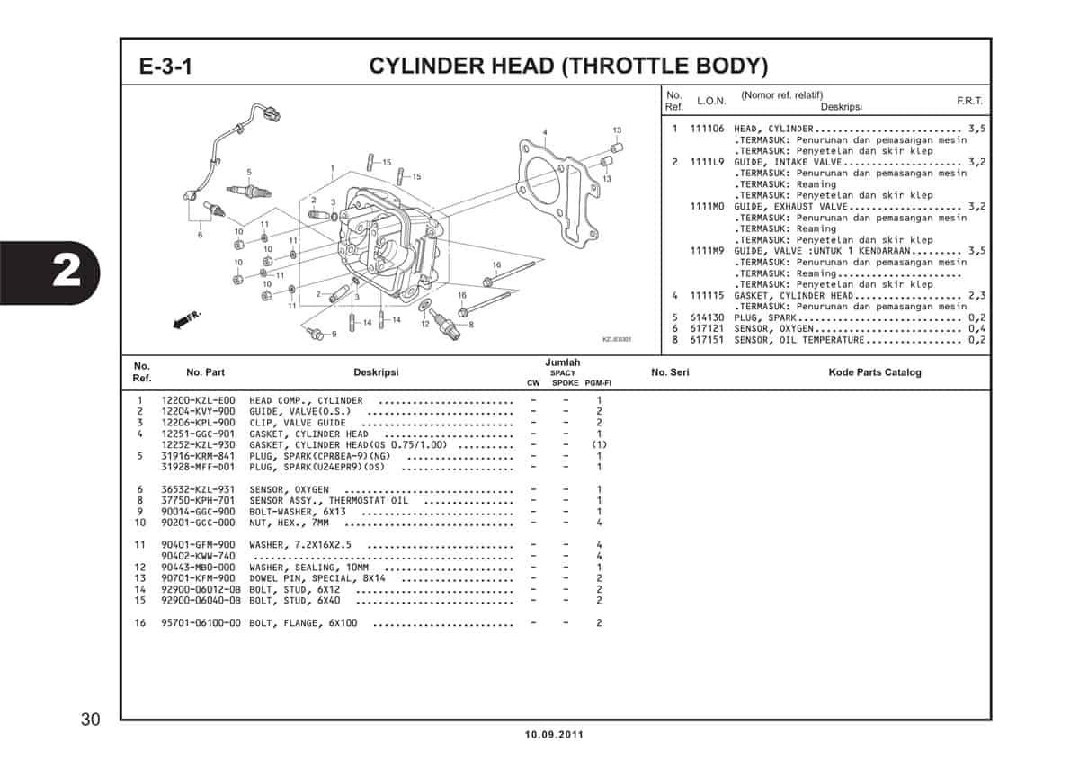 E3 1 Cylinder Head