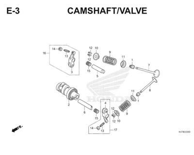 E3 Camshaft Valve Katalog Blade K47 Thumb