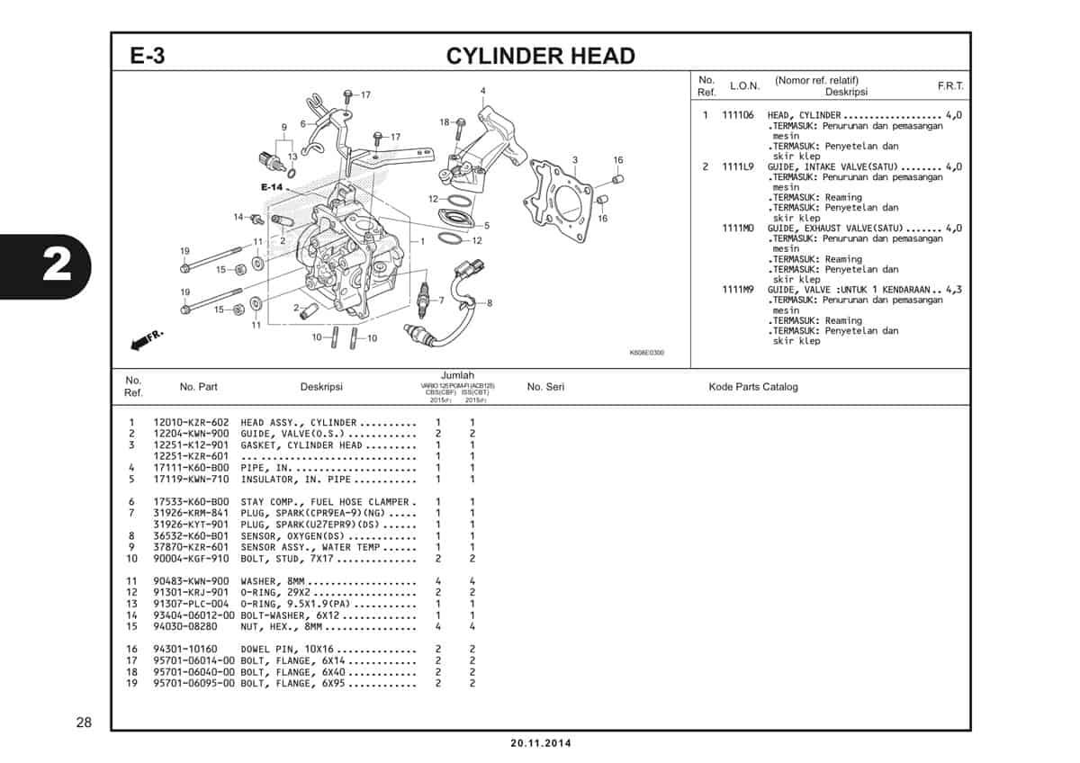 E3 Cylinder Head 1