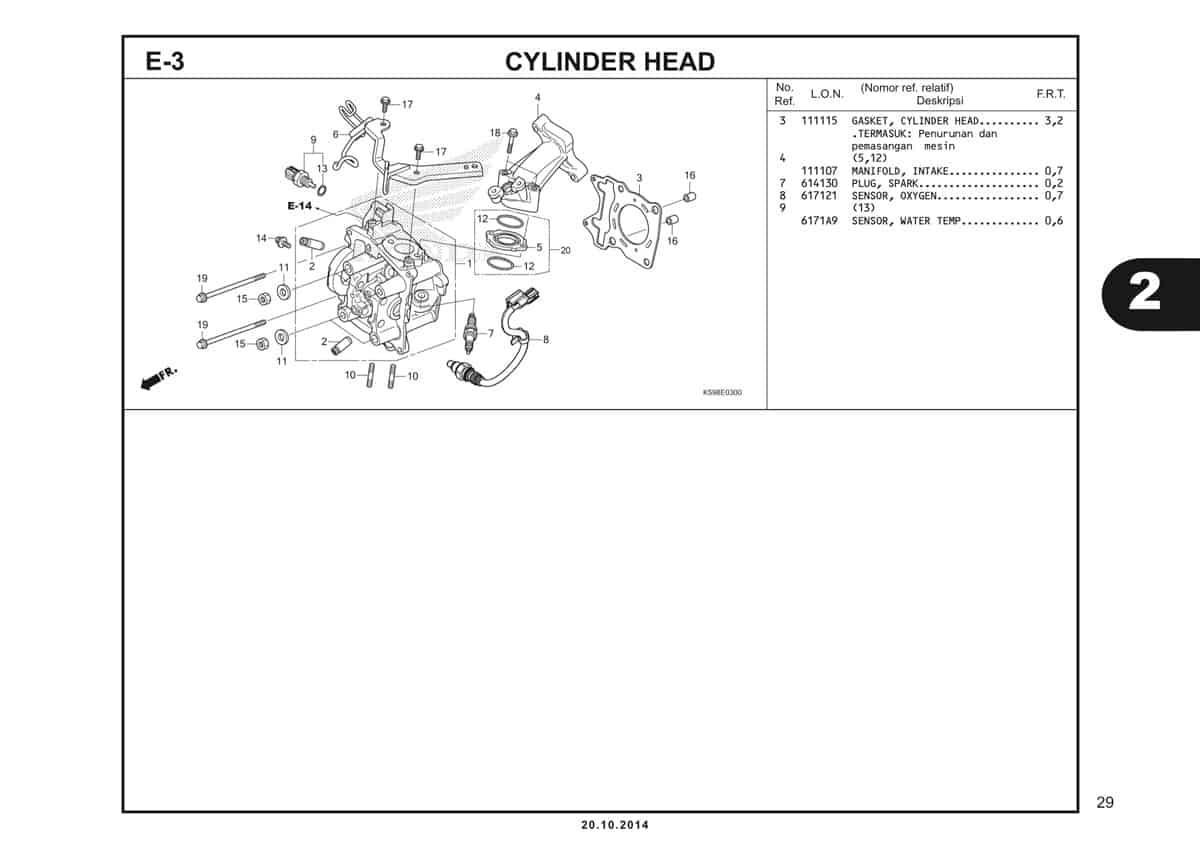 E3 Cylinder Head 2