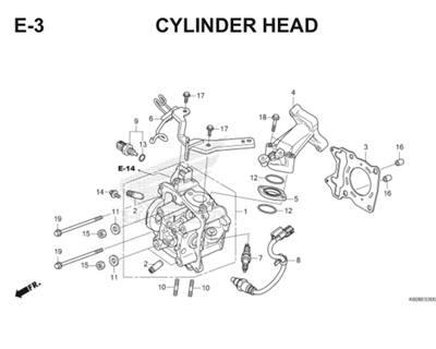 E3 Cylinder Head Thumb