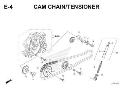 E4 Cam Chain Tensioner Katalog Blade K47 Thumb