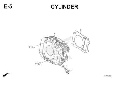 E5 Cylinder Katalog Blade K47 Thumb
