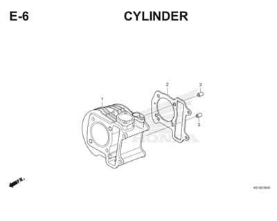 E6 Cylinder Thumb