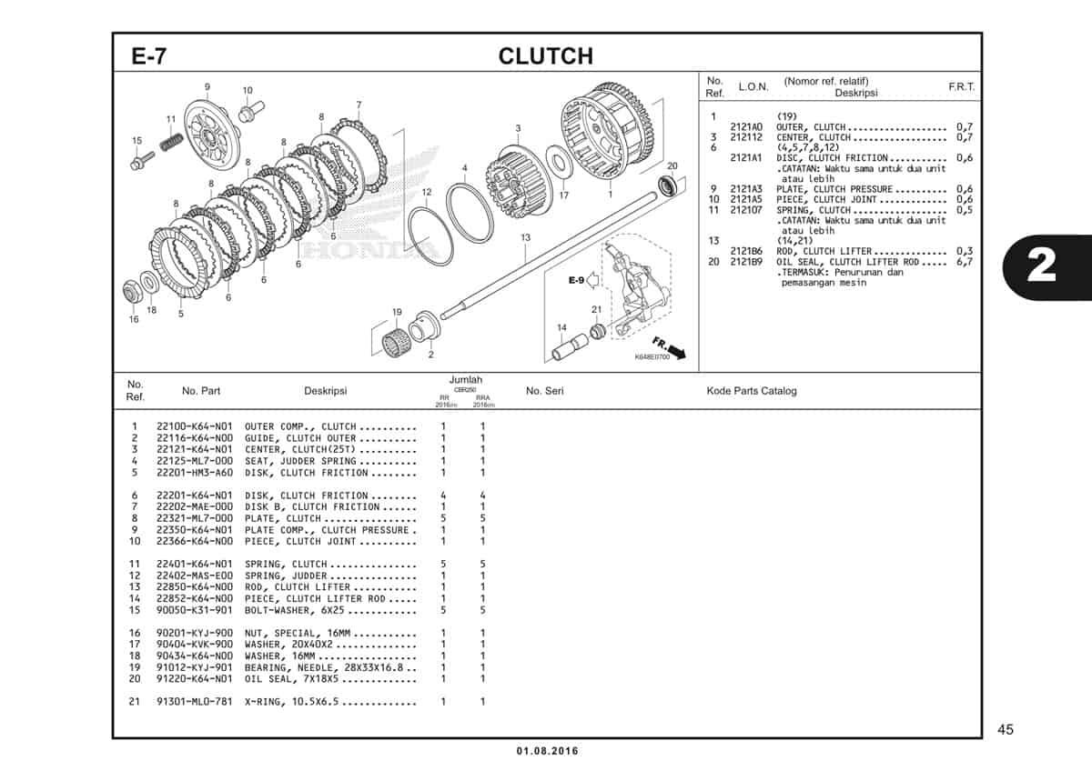 E7 Clutch