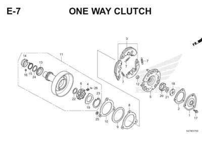E7 One Way Clutch Katalog Blade K47 Thumb