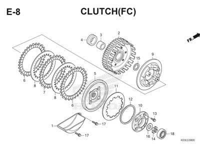 E8 Clutch Thumb