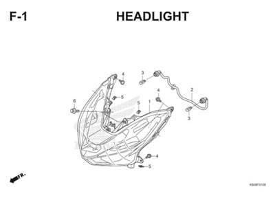 F1 Headlight Thumb