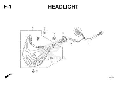 F1 Headlight Thumb