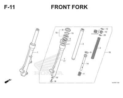 F11 Front Fork Katalog Blade K47 Thumb