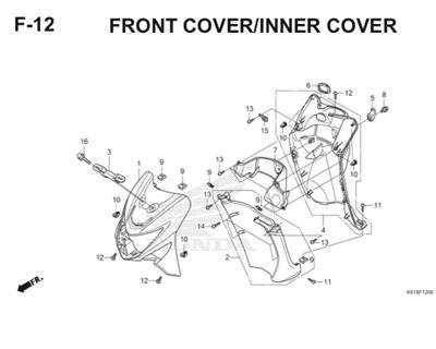 F12 Front Cover Inner Cover
