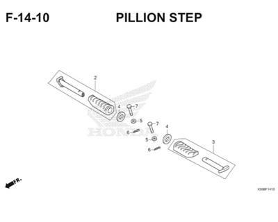 F14 10 Pillion Step Thumb