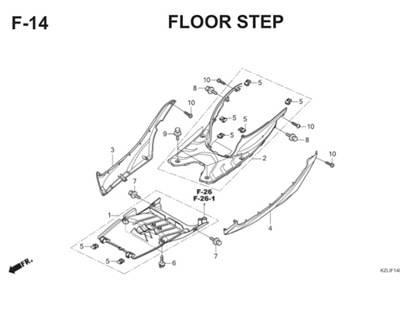F14 Floor Step Thumb
