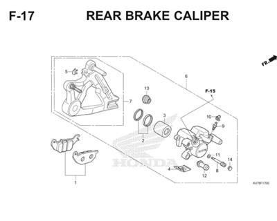 F17 Rear Brake Caliper Katalog Blade K47 Thumb