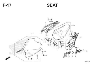 F17 Seat Thumb