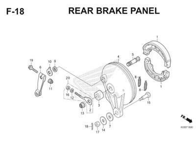 F18 Rear Brake Panel Thumb