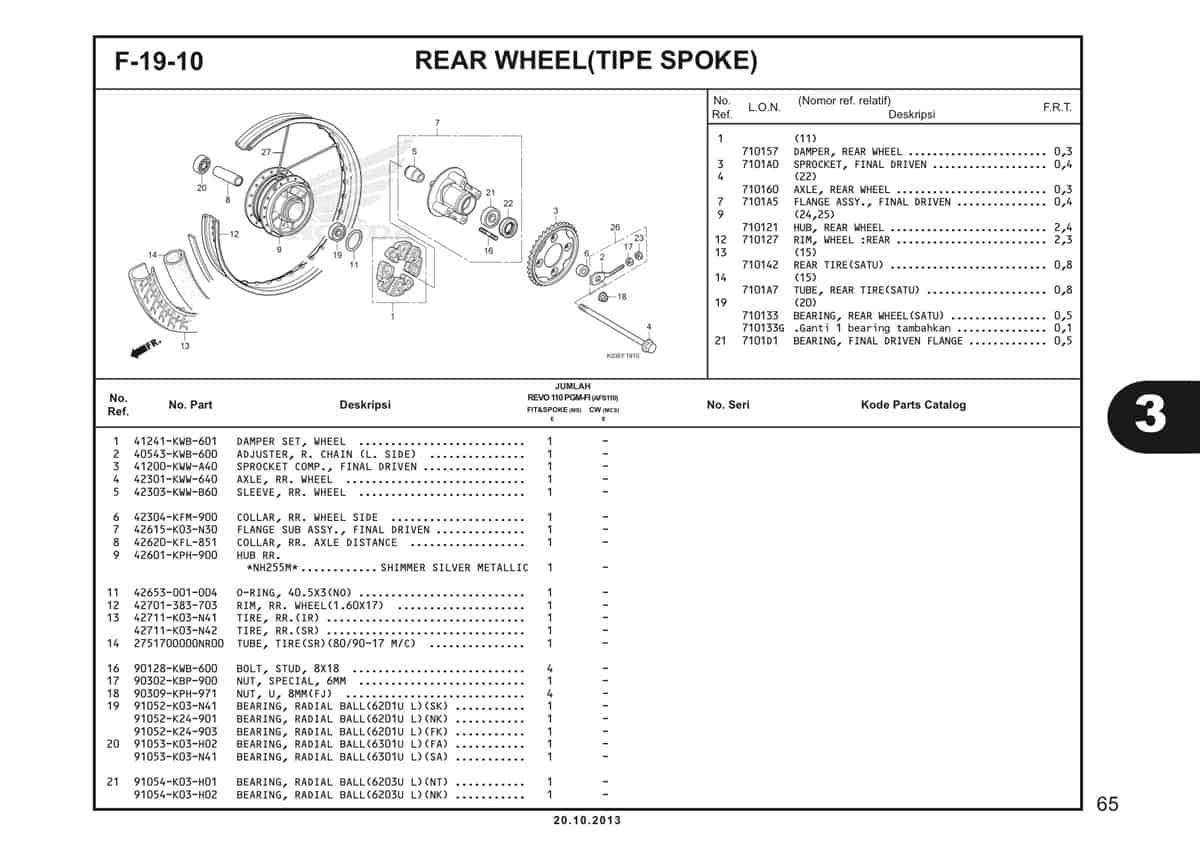 F19 10 Rear Wheel 1
