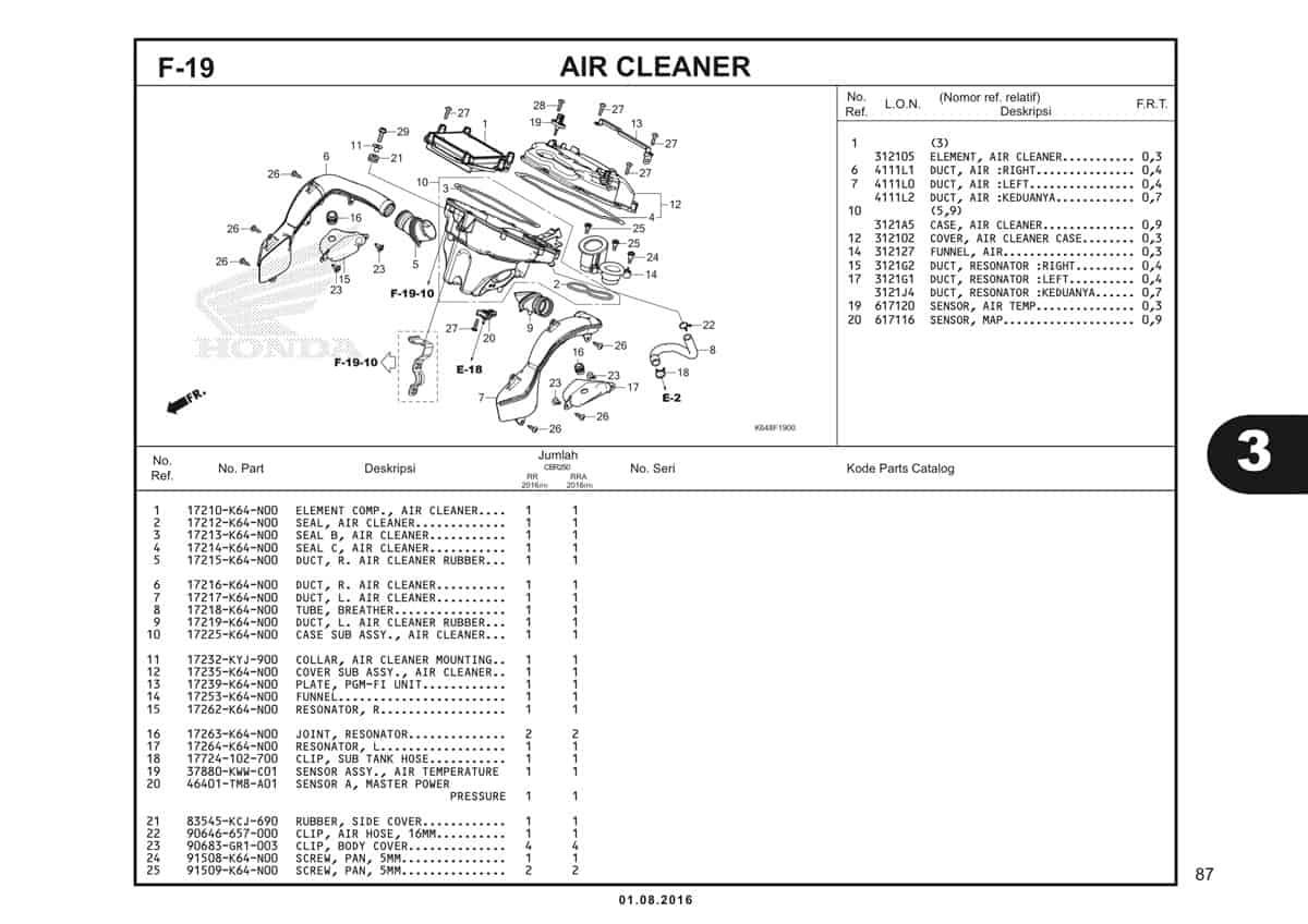 F19 Air Cleaner 1