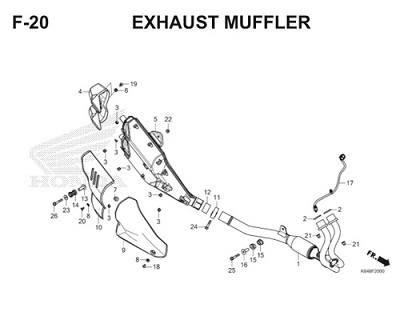 F20 Exhaust Muffler Thumb