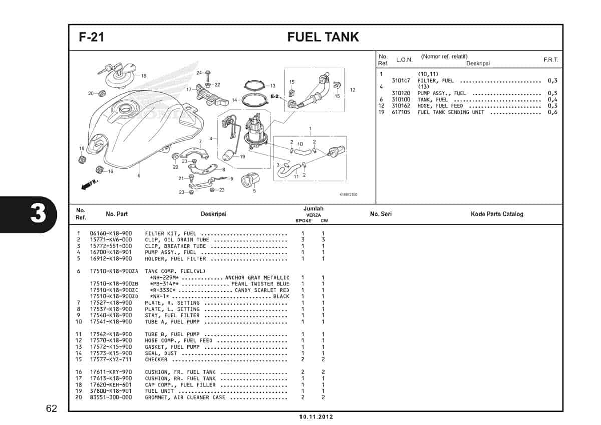 F21 Fuel Tank 1