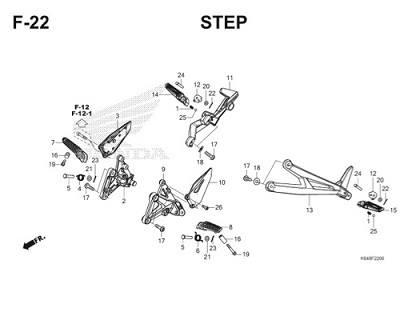 F22 Step Thumb
