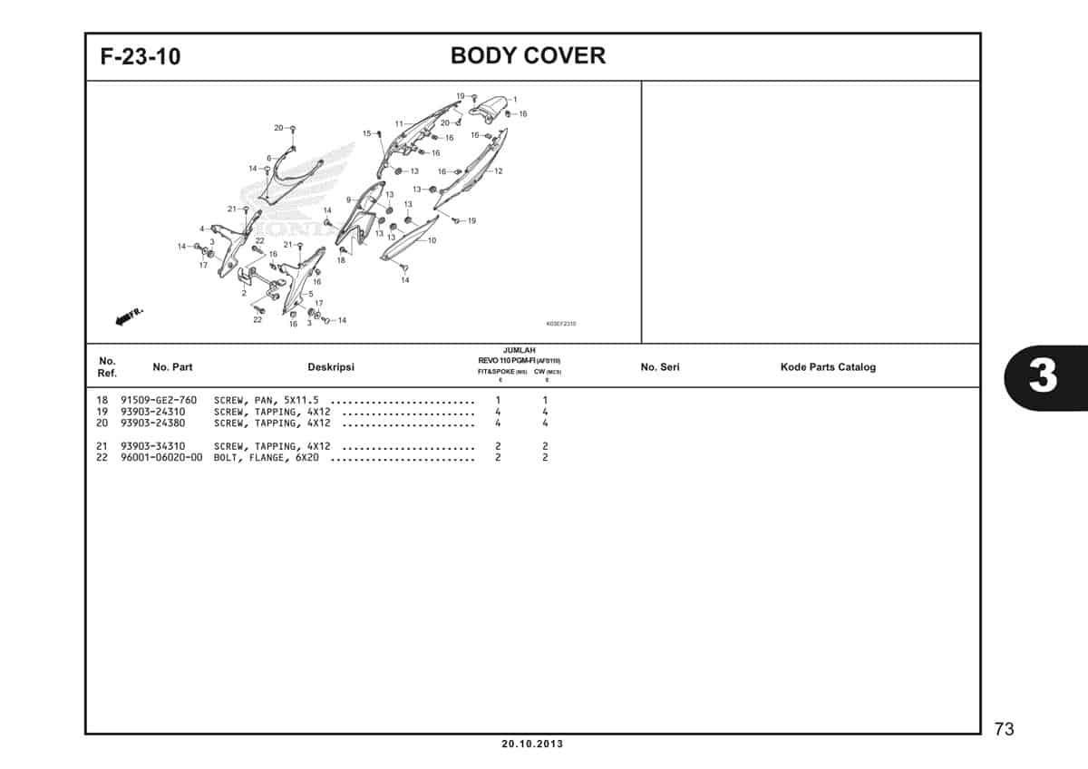F23 10 Body Cover 2