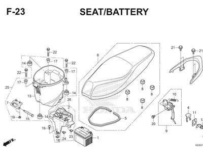 F23 Seat Battery Thumb