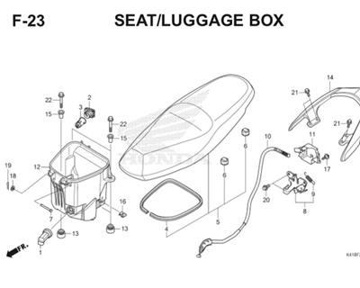 F23 Seat Luggage Box Thumb