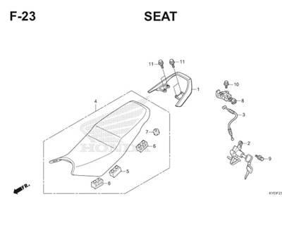 F23 Seat Thumb