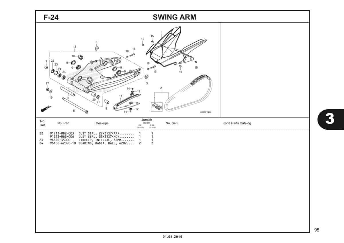 F24 Swing Arm 2