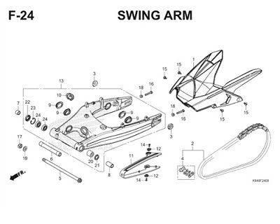 F24 Swing Arm Thumb