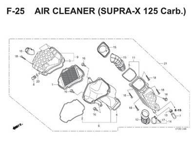 F25 Air Cleaner Thumb