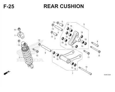 F25 Rear Cushion Thumb