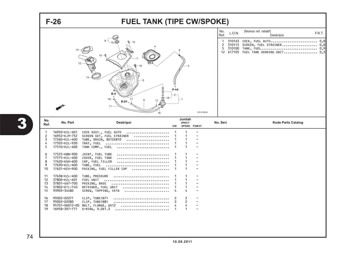 F26 Fuel Tank