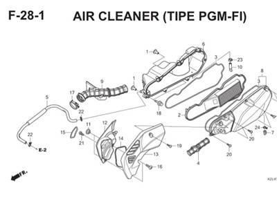 F28 1 Air Cleaner Thumb
