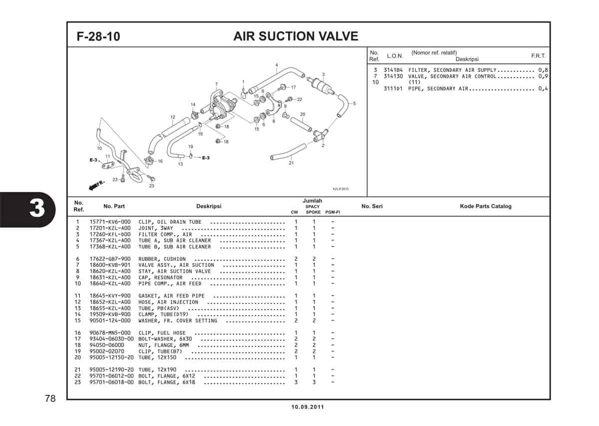 F28 10 Air Suction Valve