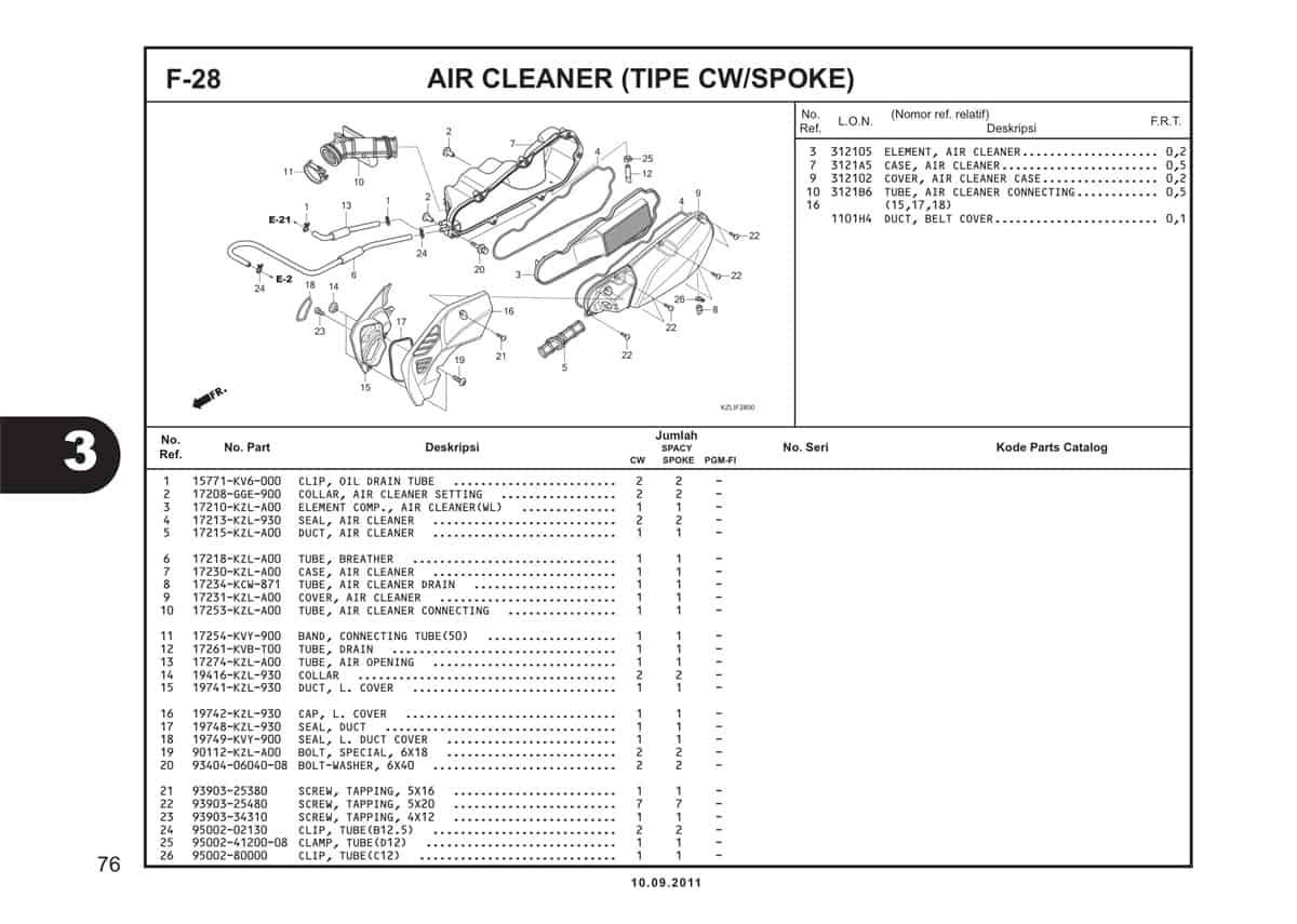 F28 Air Cleaner
