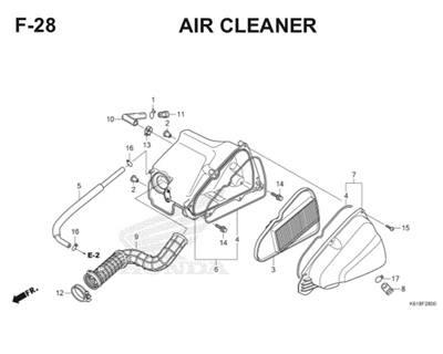 F28 Air Cleaner Thumb