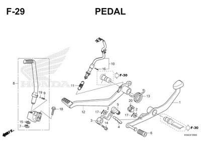 F29 Pedal Thumb