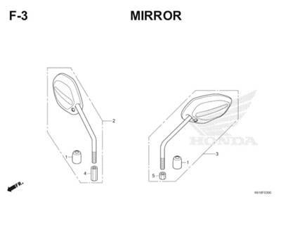 F3 Mirror Thumb