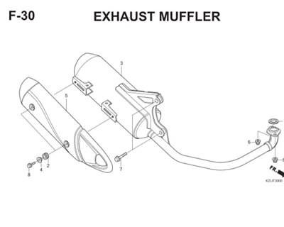 F30 Exhaust Muffler Thumb
