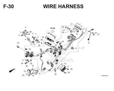 F30 Wire Harness Thumb